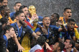Hantam Kroasia 4-2, Perancis Angkat Trofi Piala Dunia 2018