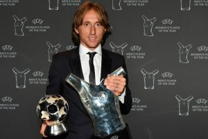 Sabet Gelar Player Of The Year 2018 Versi UEFA, Modric Salip Ronaldo Dan Salah