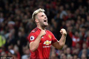 Luke Shaw Di Perkirakan Akan Absen Panjang Dalam Membela Manchester United