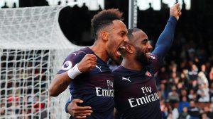 Eksperimen Emery Di Arsenal Melahirkan Duet Maut Aubameyang-Lacazette