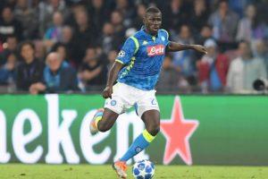 Napoli Tolak Mahar 80 Juta Poundsterling Man United Untuk Koulibaly
