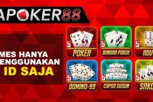 Poker88 Solusi Bermain Poker Teraman Bersama Mitrapoker88