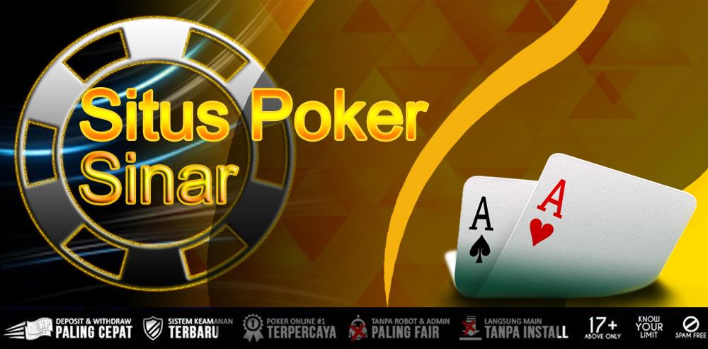 Situs Poker Online Uang Asli Terpercaya Indonesia