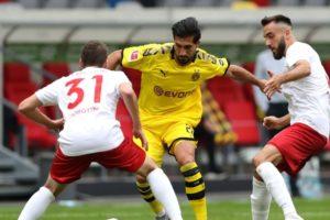 Hasil Pertandingan Fortuna Dusseldorf Vs Borussia Dortmund Skor 0-1